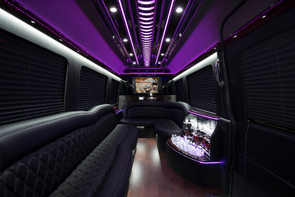 12 Passenger Party Buses Frederick